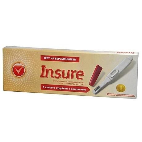 Отзывы тест на беременность insure отзывы