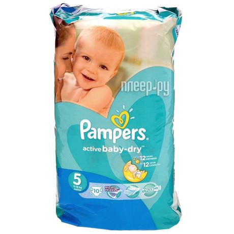 c360a81f734a Купить Подгузники PAMPERS Active baby Junior (11-18кг), 10 шт. в ...